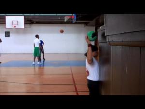 post cuff ball bounce