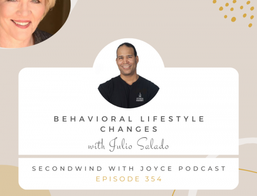 My interview on SecondWind podcast hosted by Joyce Buford.